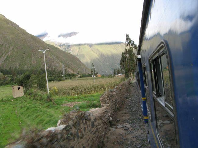 поезд на Мачу-Пикчу